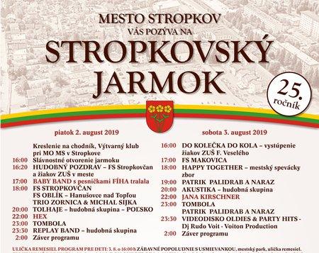 25. ročník Obnoveného jarmoku v Stropkove