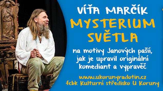 4. 4. v 19,00 * Divadlo Víti Marčíka - Mysterium světla