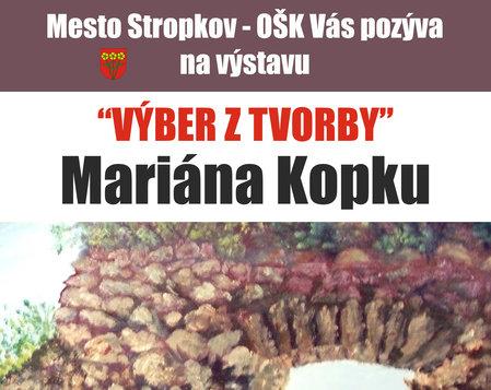 Výber z tvorby Mariána Kopku