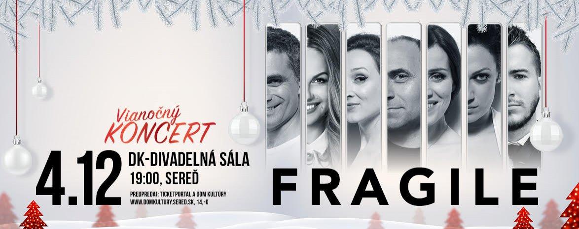 Vianočný koncert FRAGILE