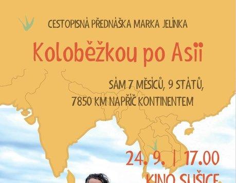 Cestovatelská přednáška - Koloběžkou po Asii