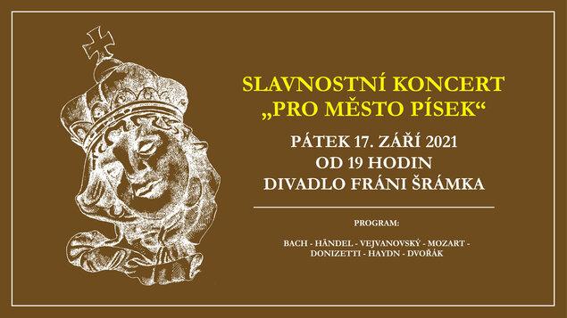 Slavnostní koncert pro město Písek