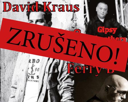 KONCERT - DAVID KRAUS AND FERRY B  - ZRUŠENO