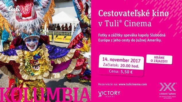 "Cestovateľské kino s CK VICTORY TRAVEL - ""KOLUMBIA"""