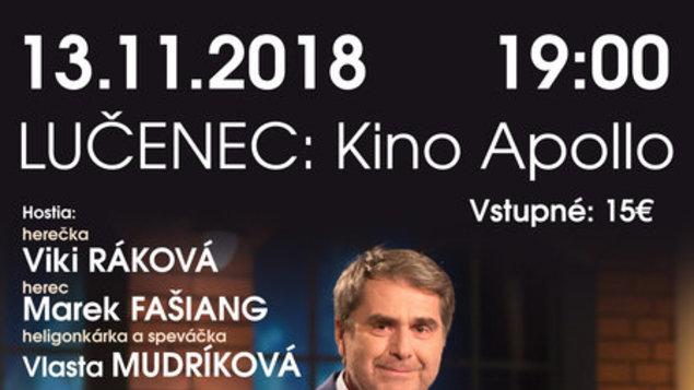 Neskoro večer - live talk show Petra Marcina
