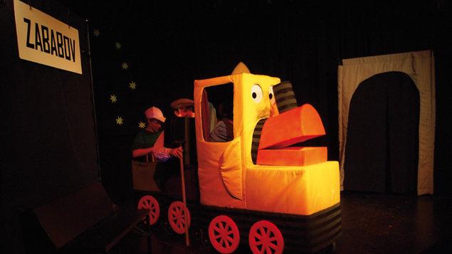 Divadlo Tramtarie: Pohádky o mašinkách