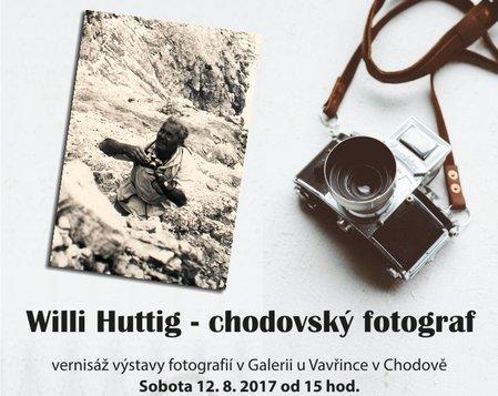 Vernisáž výstavy - Willy Huttig