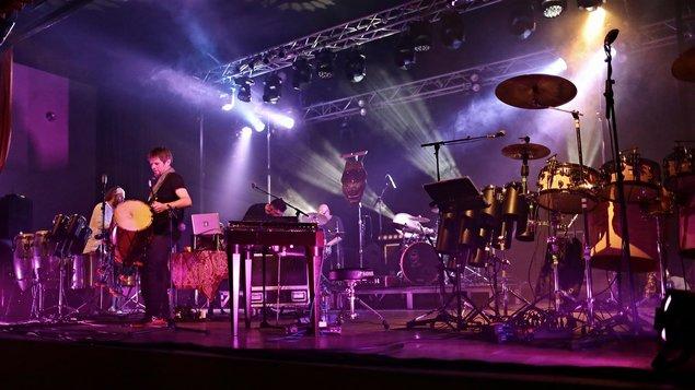 Slet bubeníků - bubny léčí