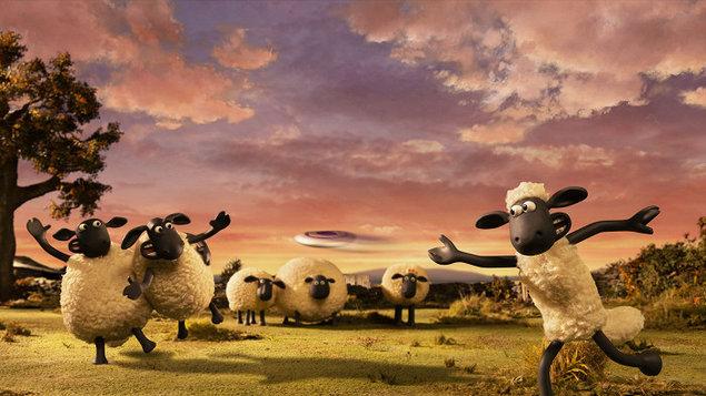 Ovečka Shaun ve filmu: Farmageddon #vašekino