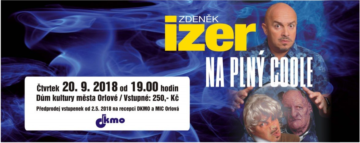 Zdeněk Izer: Na plný coole!