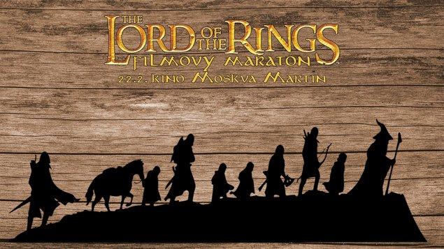 Pán prsteňov - filmový maratón Spoločenstvo Prsteňa
