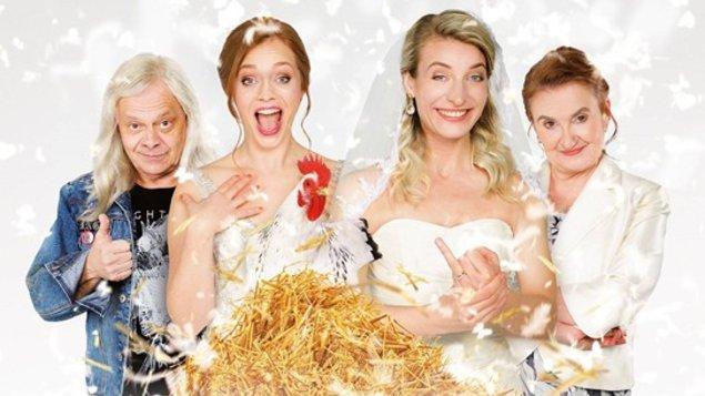 VÝHODNÝ PONDELOK ZA 4 EURÁ - Dve nevesty a jedna svadba