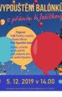 Vypouštění balónku s přáním k Ježíškovi