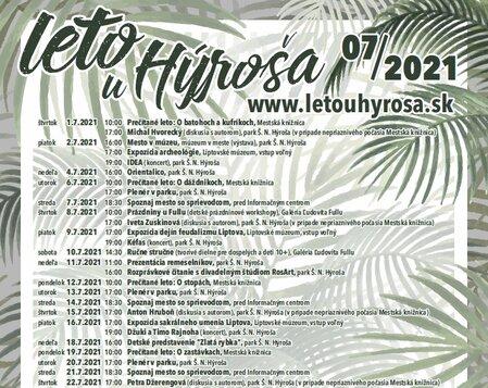 Leto u Hýroša 2021