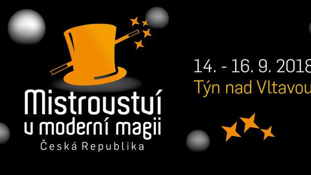 Mistrovství České republiky v moderní magii - Kouzelný koktejl 2018