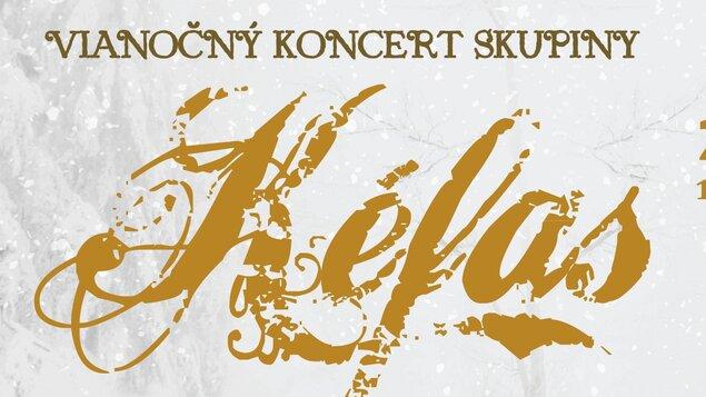 Vianočný koncert skupiny Kéfas