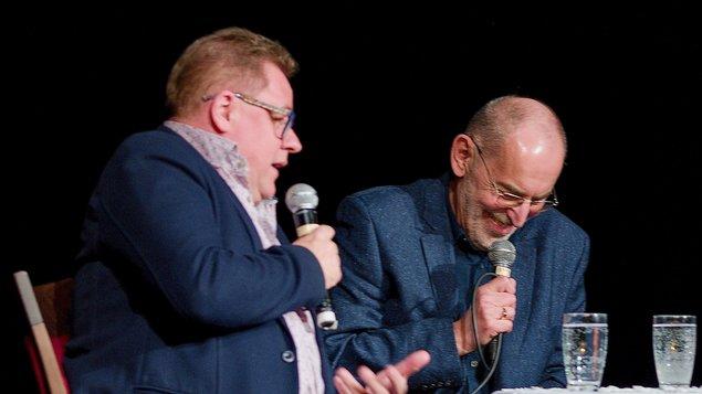 Zábavná talkshow Ivo Šmoldase a Václava Kopty