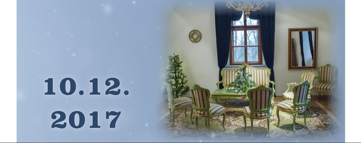 Čaro Vianoc v kaštieli
