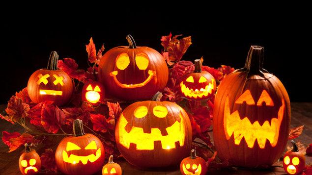 Halloweenská strašidelná show