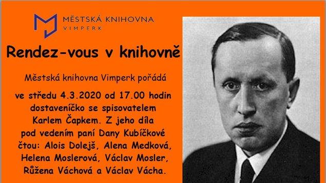 Pásmo ke 130. výročí narození Karla Čapka