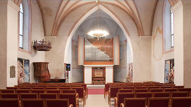 Varhanní a houslový koncert ~ Linětskij & Havlíčková