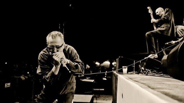Májový blues - Paul Lamb / Chad Strentz (UK) Roosevelt Houserockers (Rakousko)