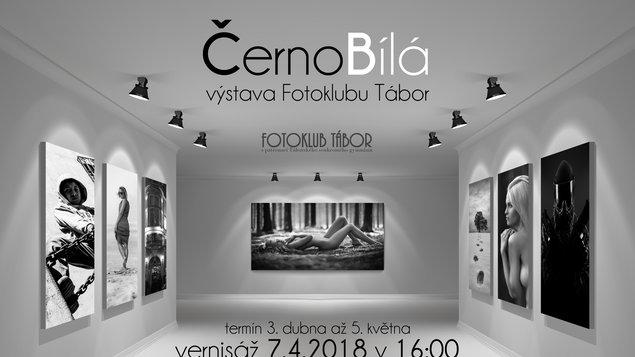 ČernoBílá výstava Fotoklubu Tábor