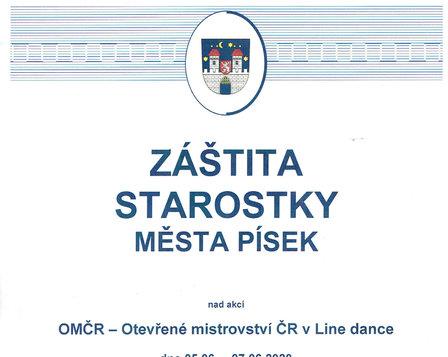 Otevřené mistrovství ČR 2020 v Line Dance ~ ZRUŠENO