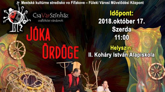 Divadlo Csavar Színház: Čert Jóky