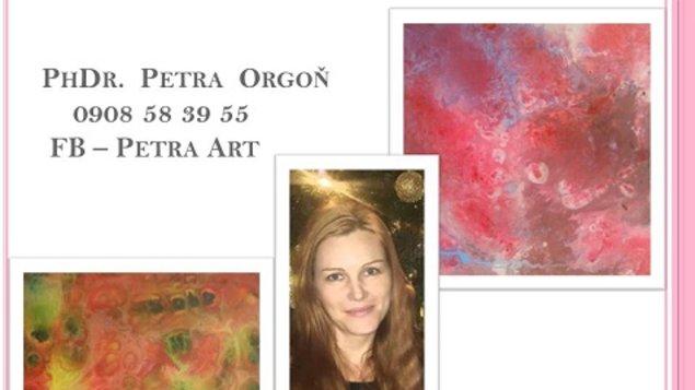 """Výstava obrazov """"Obraz je energia na plátne"""""""