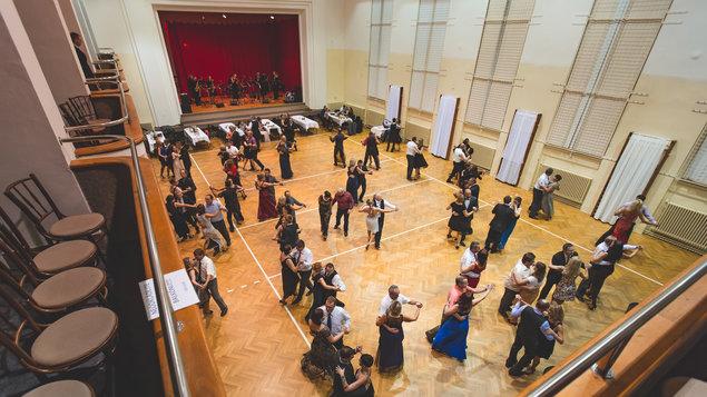 Věneček tanečního kurzu pro dospělé