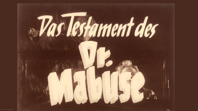 Testament doktora Mabuseho