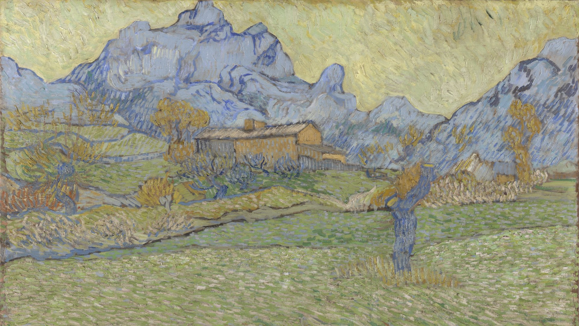 Van Gogh - o obilných polích a oblačném nebi