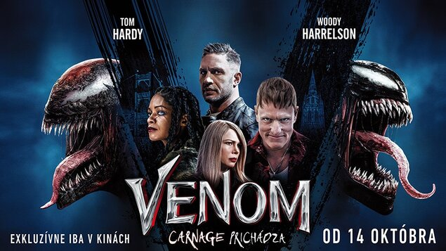 Venom 2: Carnage prichádza