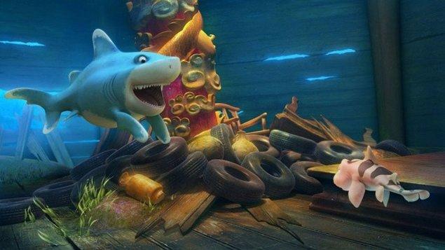 Žraloky na súš(h)i