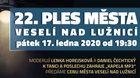 Ples Města Veselí nad Lužnicí 2020