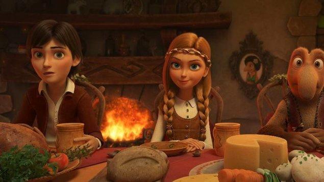Snehová kráľovná: Tajomstvo ohňa a vody