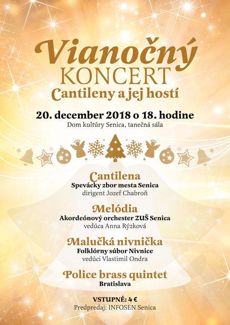 ed78c635428 Vianočný koncert Cantileny a jej hostí – program a vstupenky online ...