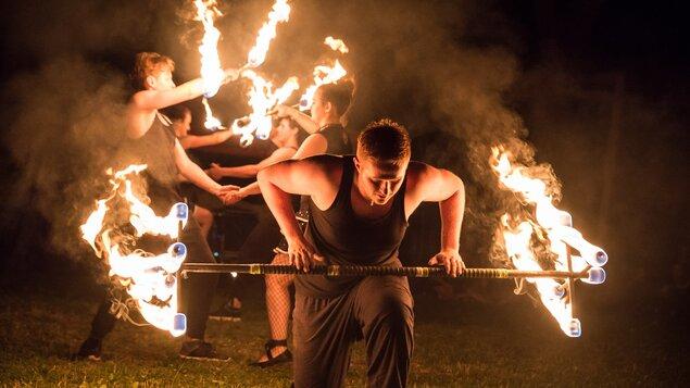 Bitva na Winterbergu a Art Camp – Fire fest