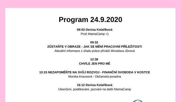 Mama camp - 24.9.2020