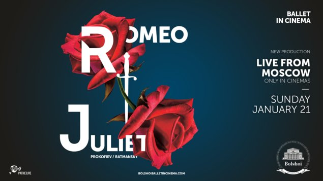 Romeo a Julie (Bolšoj balet) - živě