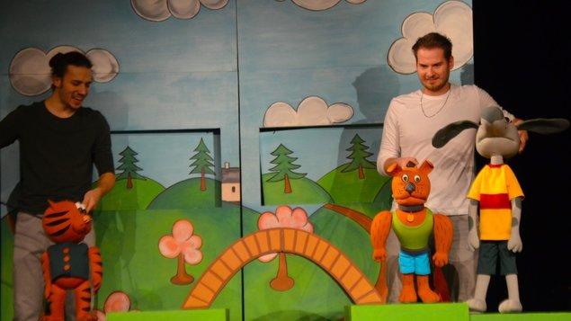 Káťa a Škubánek - dětské divadelní předplatné