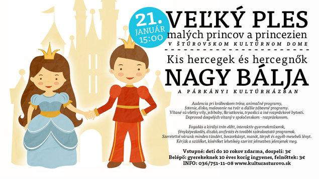 Veľký ples malých princov a princezien, 21.01.2018