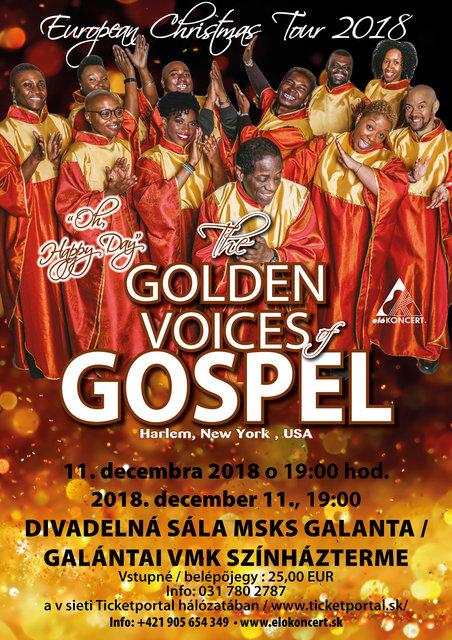 c61db8f695e Svetoznáma afro-americká gospelová skupina The Golden Voices Of Gospel –  program a vstupenky online