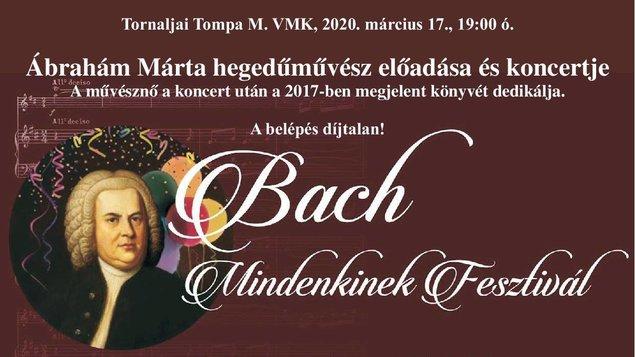 Bach pre každého 2020- Bach mindenkinek 2020