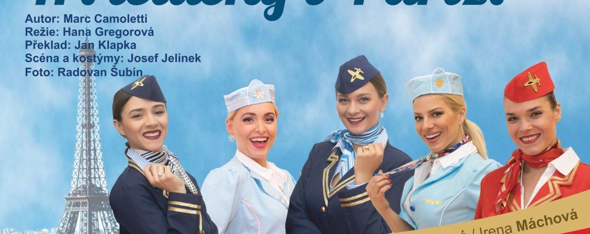 Boeing - Boeing aneb Tři letušky v Paříži - POZASTAVENO