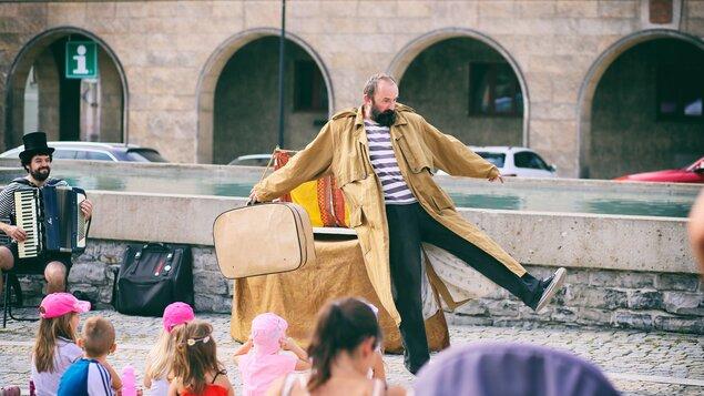 Vimperský kašpárek - Divadlo Cirkus Žebřík - Loutky, které nikde nechtěli