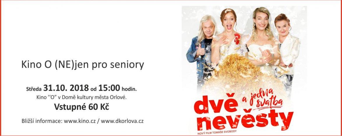 Dvě nevěsty a jedna svatba - Kino O (NE)JEN pro Seniory