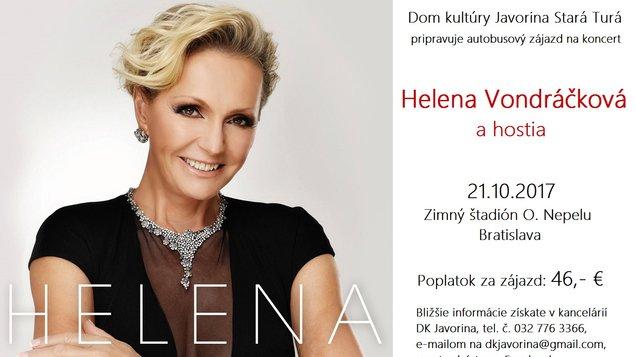 Helena Vondráčková 70 a hostia