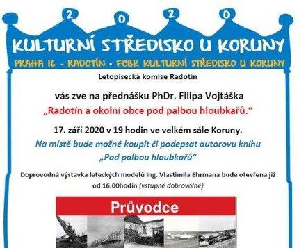 17. září 19:00  *  Přednáška: Radotín a okolní obce pod palbou